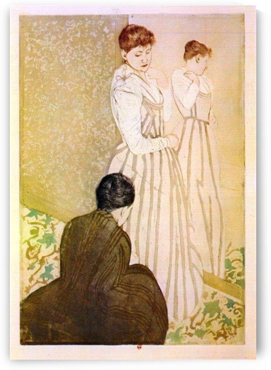 Fitting by Cassatt by Cassatt