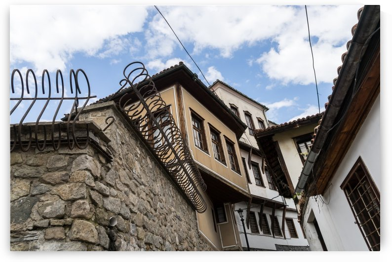Old Town Plovdiv - Cool Curly Fence and Classic Oriel Windows by GeorgiaM