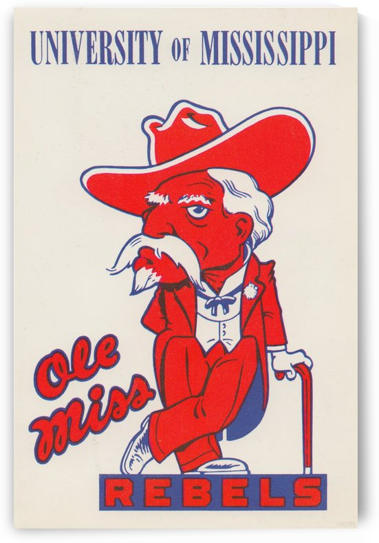 1975 Ole Miss by Row One Brand
