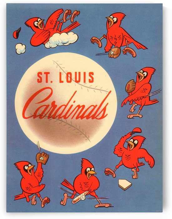 1952 St. Louis Cardinals  by Row One Brand