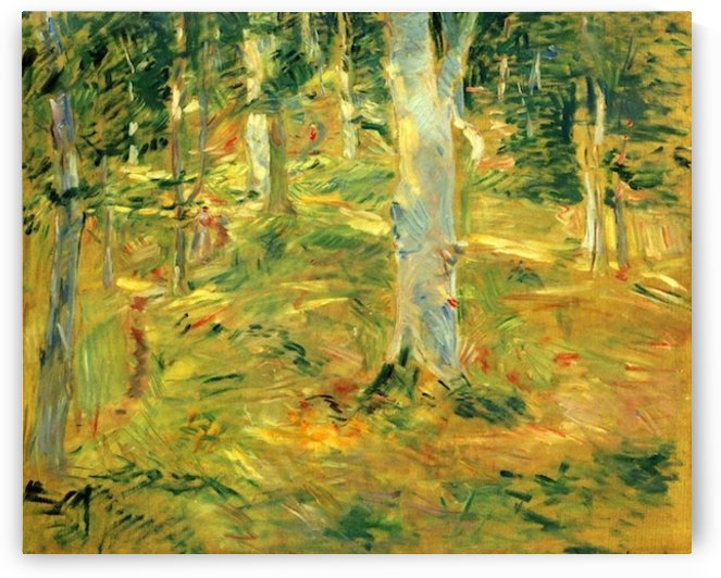 Forest of Compiegne by Morisot by Morisot