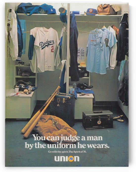 1978 Union 76 Gasoline Ad_Vintage Gas Station Ads__Retro Sports Ad_Row One Vintage Sports Ads LA by Row One Brand