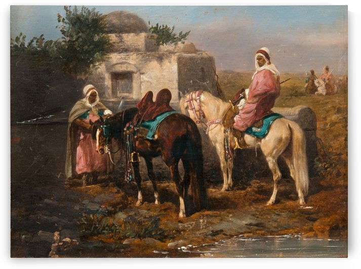 Oasis by Adolf Schreyer