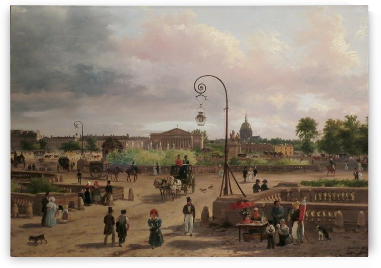 Place Louis XVI by Giuseppe Canella