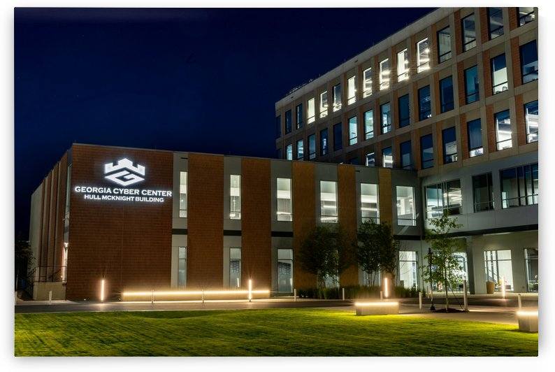 Georgia Cyber Center at Night   Augusta GA 5476 by @ThePhotourist