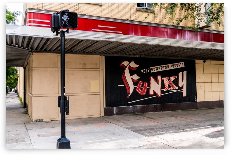 Keep Downtown Augusta Funky Mural GA 9440 by @ThePhotourist