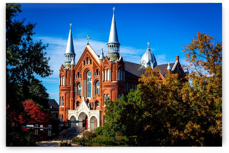 Sacred Heart Cultural Center in the Fall   Augusta GA 8052 by @ThePhotourist