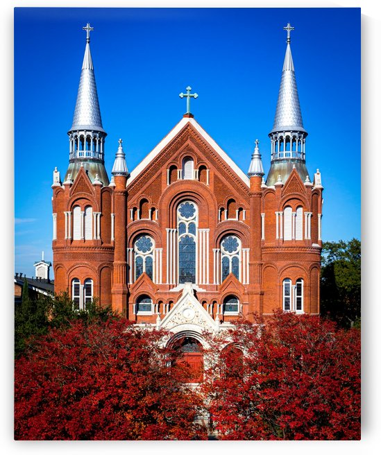 Sacred Heart Cultural Center in the Fall   Augusta GA 8009 by @ThePhotourist
