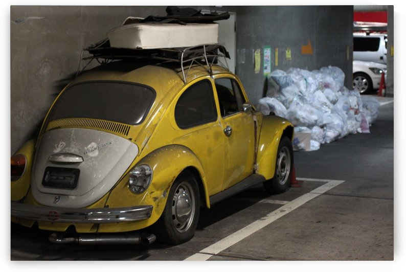 Punch Buggy Yellow No Punchbacks by Andrew Woolner