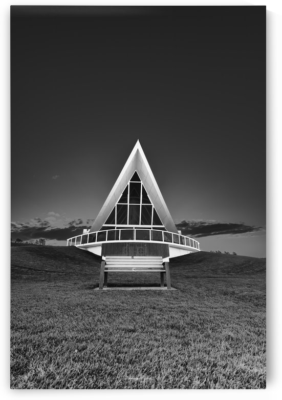 B&W - Margaret Whitlam Pavilion by BBCLICKZ - Bhaumik Bumia Photography