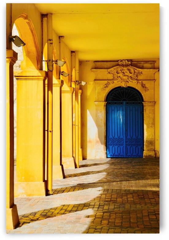 Hotel Dieu Saint Espirit ... Arles France by Fred J Bivetto