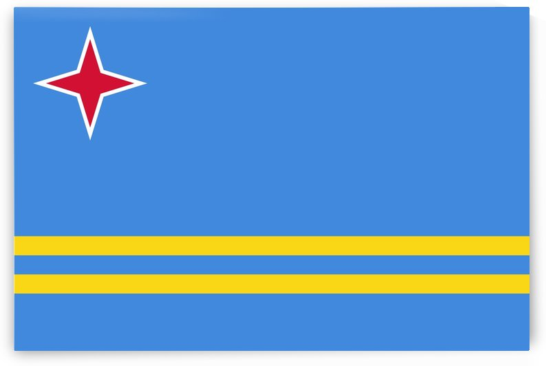 Aruba Flag by Fun With Flags