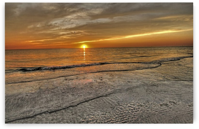 Witness-Florida Sunset by HH Photography of Florida