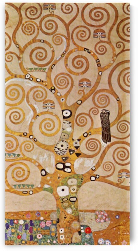 Frieze II by Klimt by Klimt