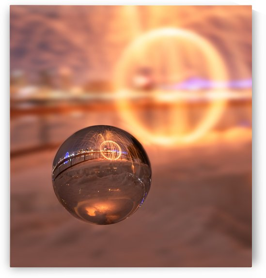 Orb in a crystal ball by RezieMart