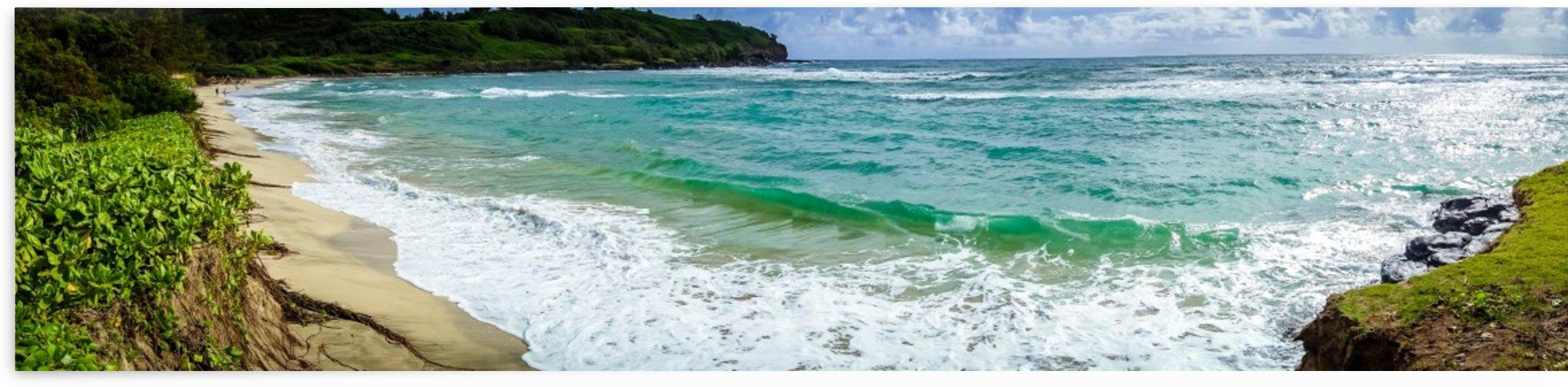 Kahili Beach Panoramic   Kauai Hawaii 0528 by @ThePhotourist