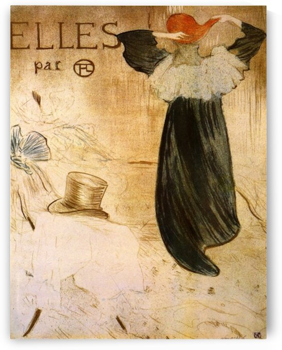 Frontispiece by Toulouse-Lautrec by Toulouse-Lautrec