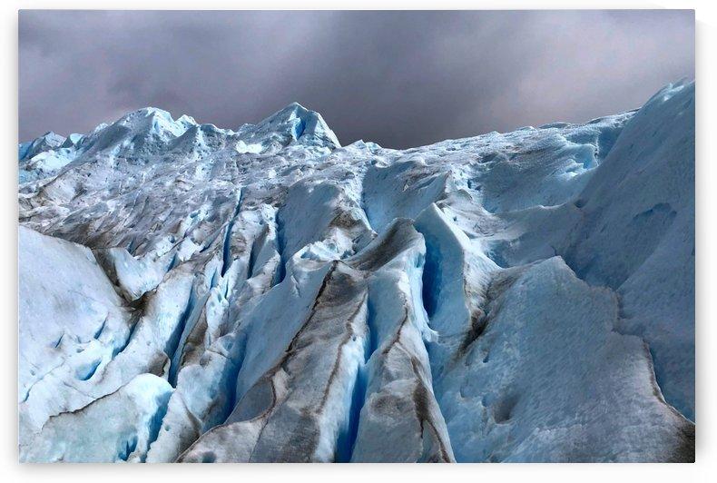 Ice Wall on Perito Moreno Glacier by Creative Endeavors - Steven Oscherwitz