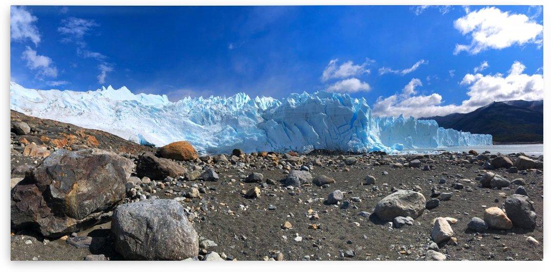 Front Face of Perito Moreno Glacier by Creative Endeavors - Steven Oscherwitz