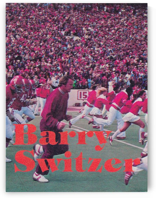 Barry Switzer Poster_Oklahoma Sooners Football Poster by Row One Brand