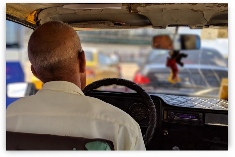 Taxi driver in Cuba by Aldo Cruz