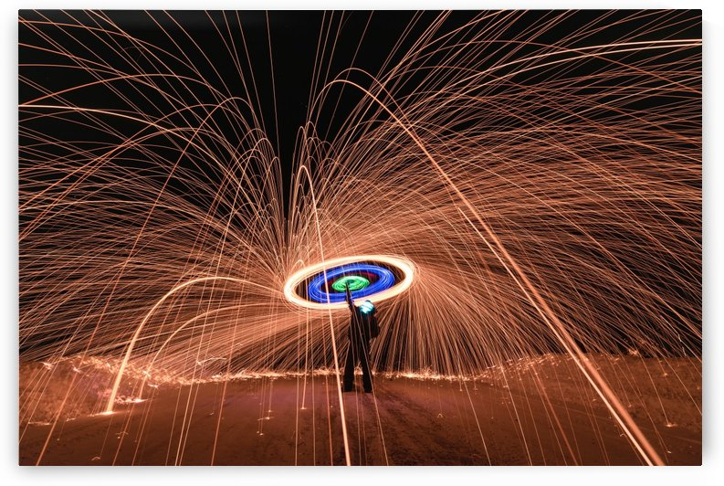 Light painting of shape lights by RezieMart