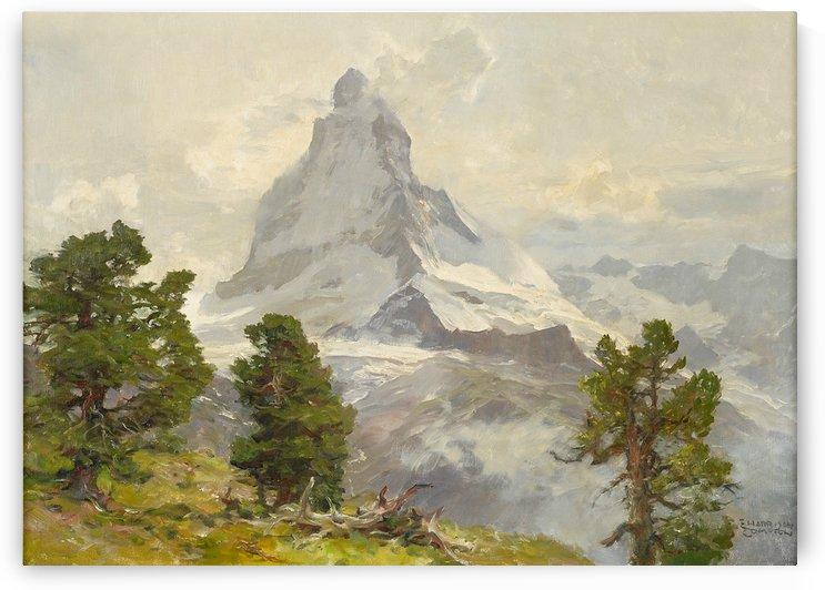 Matterhorn by August Wilhelm Leu