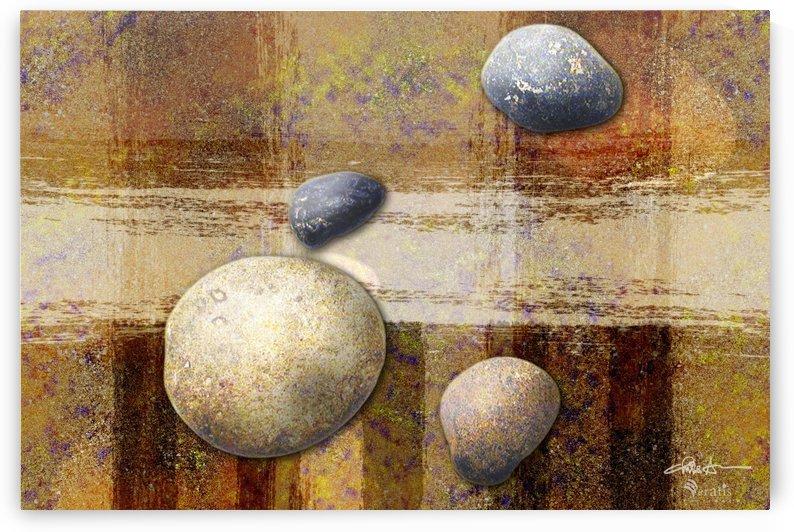 Rocks on Ochre 3x2 by Veratis Editions