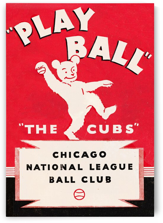 1934 Chicago Cubs  by Row One Brand