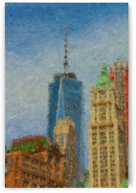 Liberty Tower Over the Buildings  by Bob McCulloch