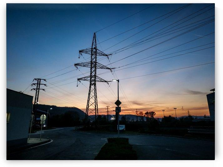 Industrial sunset by Michal Dunaj