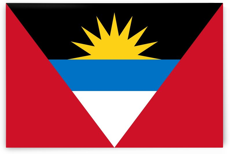 Antigua and Barbuda Flag by Fun With Flags