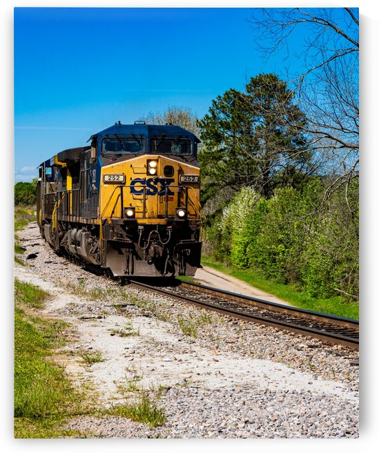 CSX Train along the Augusta Canal GA 02934 by @ThePhotourist