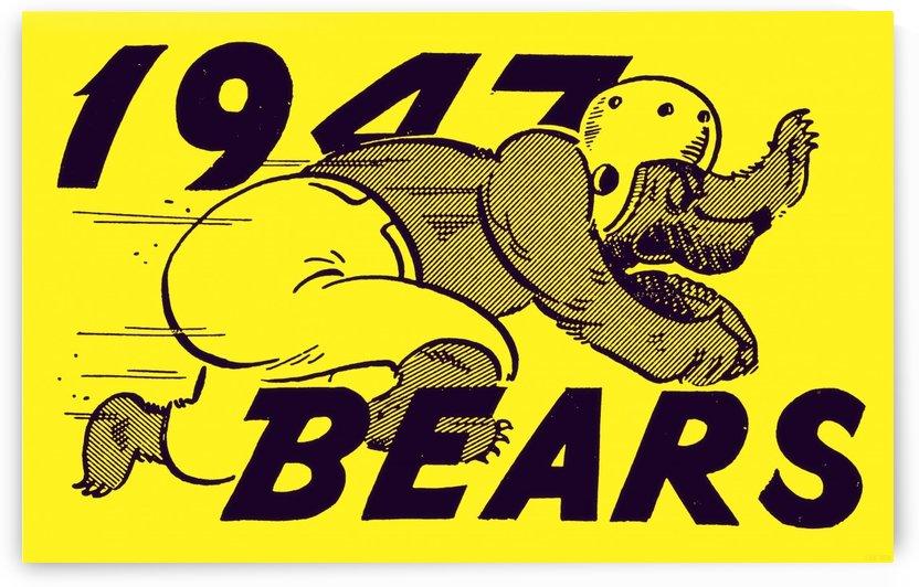 1947 Cal Bears by Row One Brand