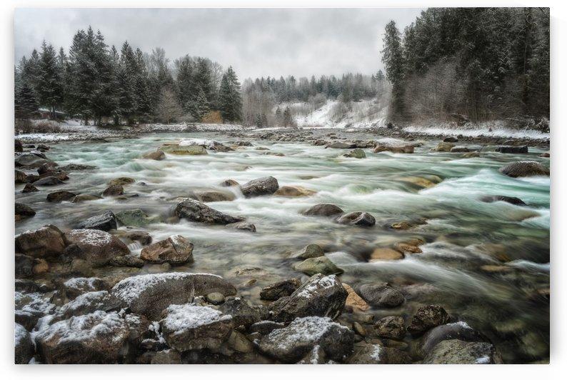 River in Winter by Carmel Studios