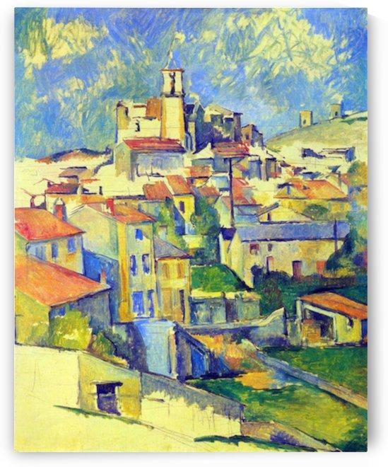 Gardanne by Cezanne by Cezanne