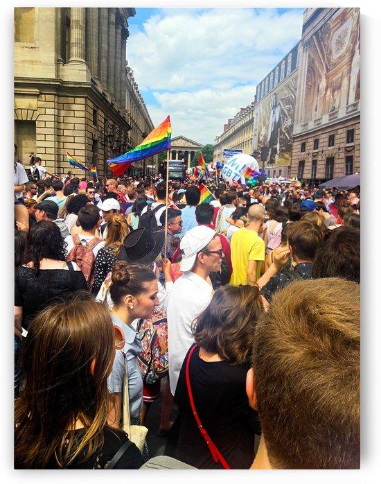 Paris Gay Parade by Gina Lafont