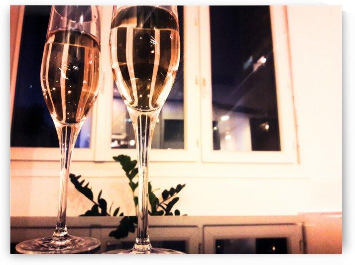 Champagne 2 by Gina Lafont