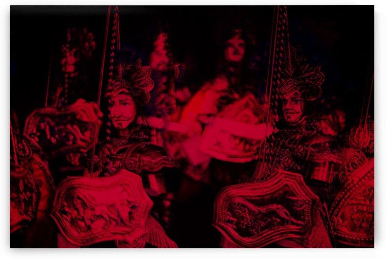 Sicilian puppets 1 by Giorgio Di Fini
