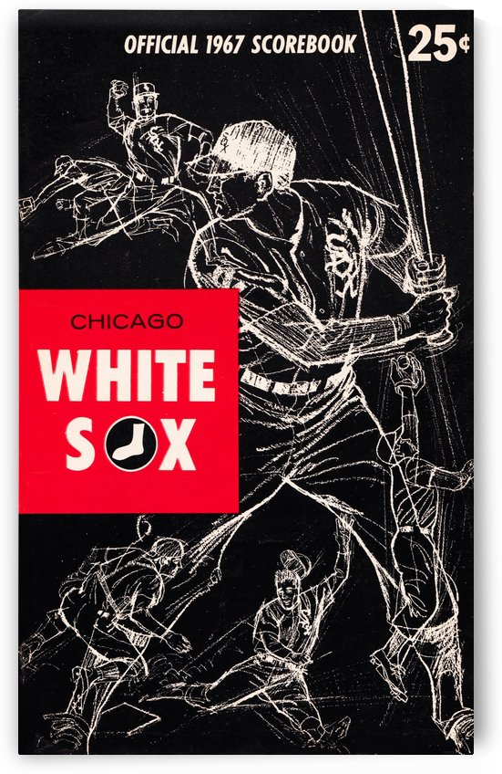 1967 Chicago White Sox by Row One Brand