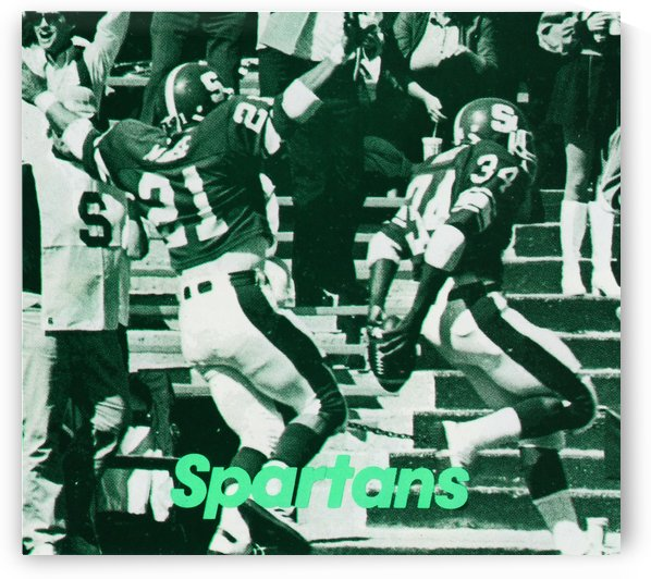 1985 Michigan State Football by Row One Brand