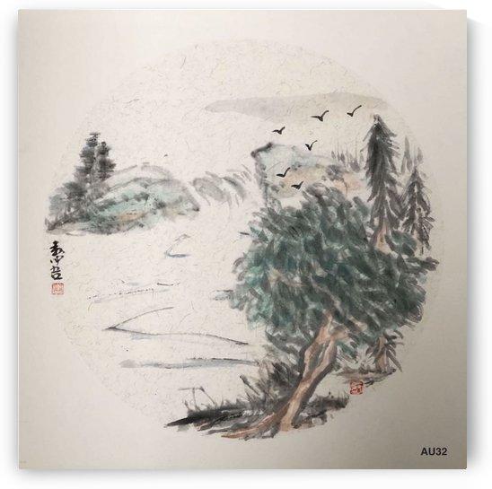 AU32 Mountains & Water  by Zhongwu