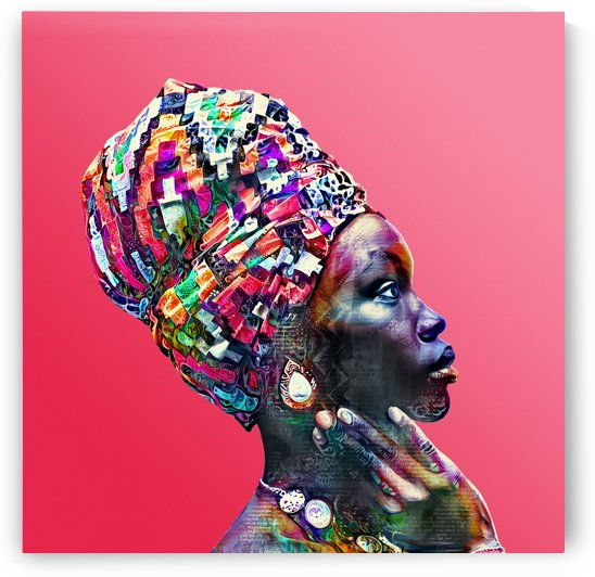 Color Through Culture VII by Art Design Works