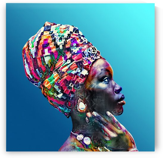 Color Through Culture VIII by Art Design Works