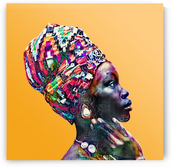 Color Through Culture IV by Art Design Works