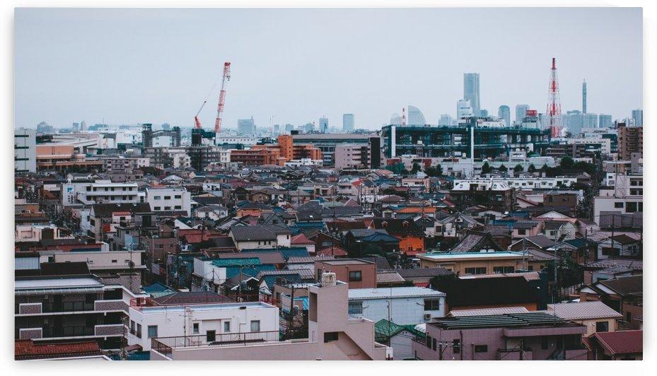 Tsurumi Skyline by Andrew Woolner
