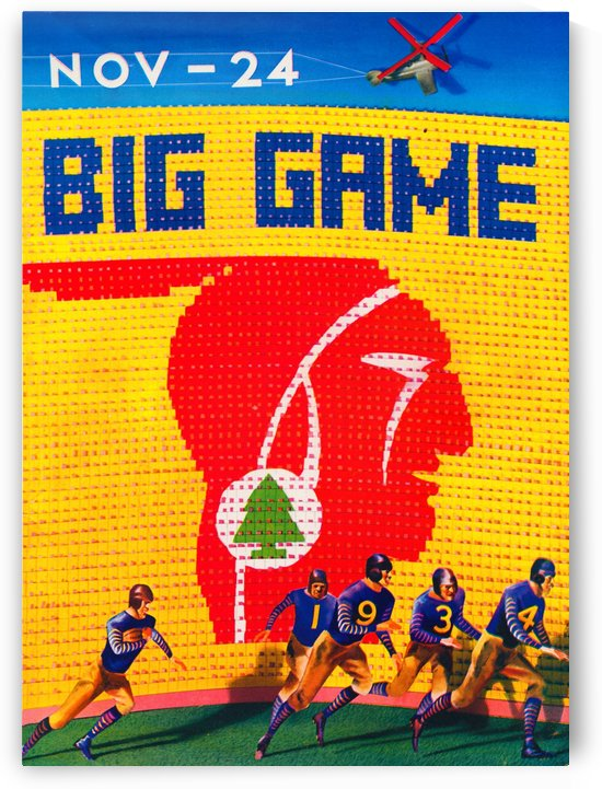 1934 Big Game by Row One Brand