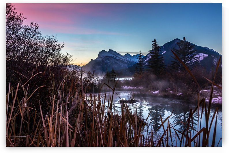 Vermilion Lakes Mist by Mike Gould Photoscapes