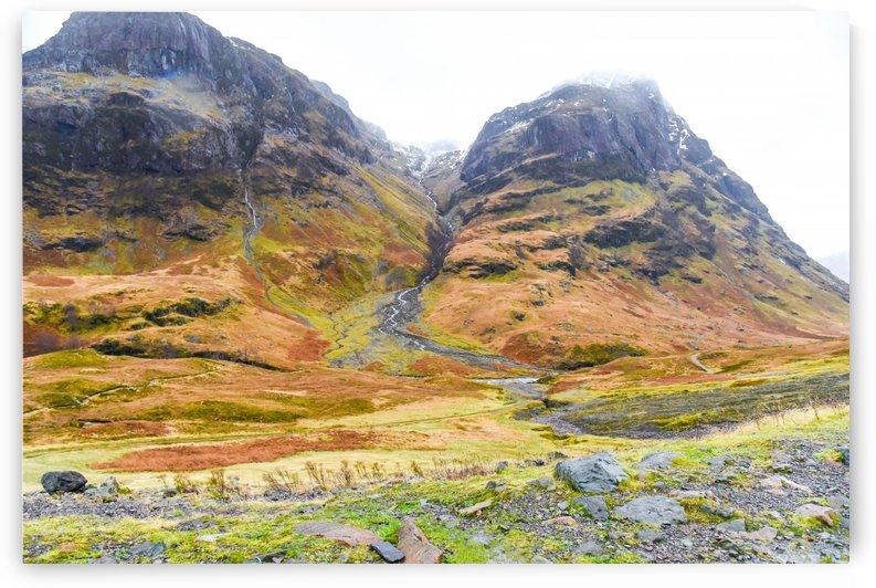 Glen Coe Scotland Highland by RezieMart