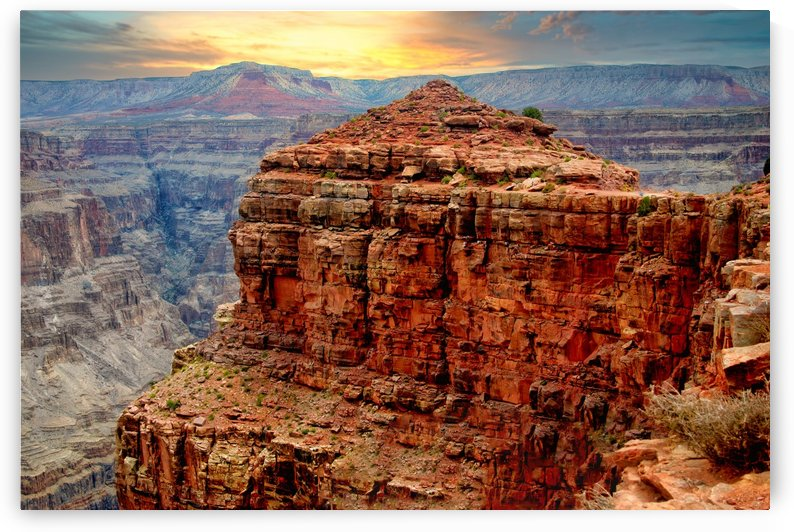 Grand Canyon at Sunset by Connie Maher